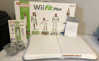 Wii Fit Plus with Balance Board Included - Complete in Box VERY GOOD CONDITION!