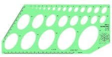 """Linex Isometric Ellipse Template 28 Ellipses of 35 Degrees 16"""" Projection 1269T"""