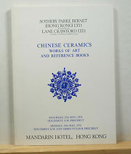 Sotheby's Chinese Ceramics Works of Art and Reference Books 5/27/1978 Hong Kong