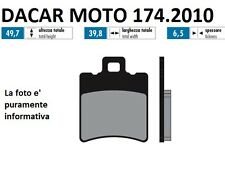 174.2010 PASTILLA DE FRENO SINTERED POLINI MBK ELEVADOR 50 R AMPLIFICADOR 50