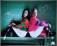 CHANTAL SUTHERLAND & KAYLA STRA Jockeys Dual Signed 8x10 Photo Game On Dude GAI