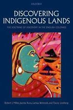 DISCOVERING INDIGENOUS LANDS - MILLER, ROBERT J./ RURU, JACINTA/ BEHRENDT, LARIS