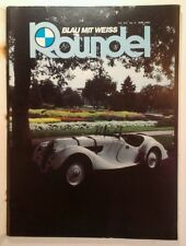 Rare ROUNDEL BMW MAGAZINE May 1983 VHTF! Ernie Weil's 1938 328 Cover Andy Warhol