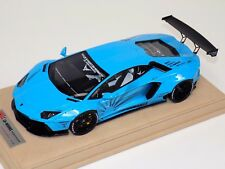 1/18 Lamborghini Aventador Liberty Walk LB Performance Baby Blue  BBR or MR