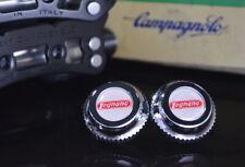 Legnano pedals dust caps fit campagnolo super record gipiemme nuovo new old