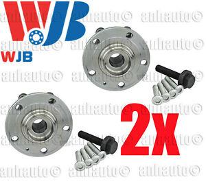 2x  NEW Wheel Hub with Bearing  Golf Jetta Rabbit Audi A3 ;Front