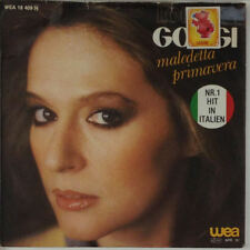"7"" single-LORETTA GOGGI-maledetta primavera-s436-Slavati & cleaned"
