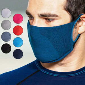 Face Mask DOUBLE LAYER Filter Adult Childs Covering Washable Reusable Breathable