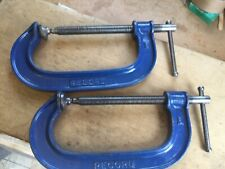 "2 RECORD 6"" G CLAMPS"