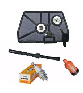Air Filter Tune up Service Kit With Fuel Line fits Stihl 028 028AV WB Wood Boss