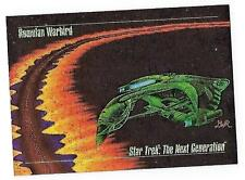 1993 StarTrek Next Generation Master Series cards -  Foil Insert  Card #S-2.