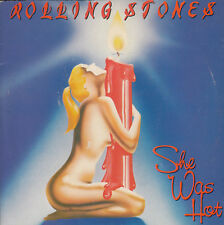 THE ROLLING STONES She Was Hot / I Think I'm Going Mad 45 P/S