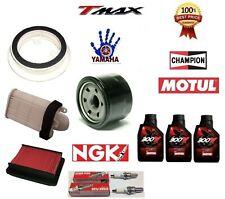 KIT TAGLIANDO YAMAHA T-MAX 530 2012 2013 2014 OLIO MOTUL 300V FILTRI CAND TMAX