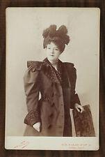Ellen Andrée, Actrice et modèle pour impressionnistes Photo Cabinet card Nadar