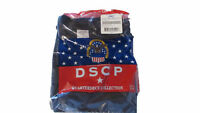 Lot of 3 Military Surplus DSCP Navy Blue t-shirt XXL 2X LARGE SHORT SLEEVE