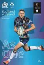 Scotland  v Ireland -  Guinness Rugby Union 6 (Six) Nations - 09 February 2019
