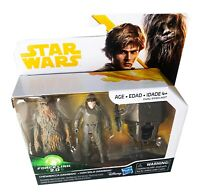 Star Wars Chewbacca & Han Solo Mimban - Force Link 2.0 Action Figures - NEW!!!