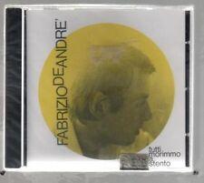 FABRIZIO DE ANDRE' TUTTI MORIMMO A STENTO  CD CDMRL 6496 F.C. SIGILLATO!!!