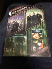 4 Film Favorite - The Matrix Collection (DVD, 2008)