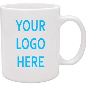 Custom Branded Bulk Buy Promotional,Personalised,Business Printed Mug,mugs x 50