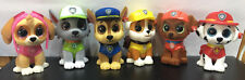 Set of 6 - 2018 Ty Mini Beanie Boos Paw Patrol Vinyl Figurine Hand Painted 2""