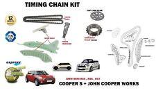 Per BMW Mini Cooper S + Jcw N14B16A N14B16C 2006- > 7 Pezzi Kit Catena