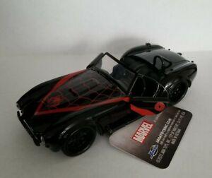 MARVEL SPIDER-MAN 1965 SHELBY COBRA 427 S/C  JADA DIE-CAST CAR 1:32