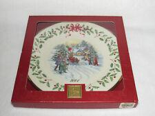 Santa Parade Lenox 2001 Holiday Collector's Ltd Ed Plate #11 - Mib