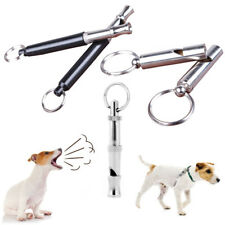 New Pet Dog Training Obedience Whistle Stop Barking Supersonic Sound Pitch Quiet