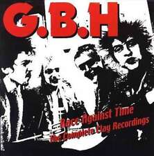 Gbh - Race Against Time - The Complete Clay Recordings NEW 3 x CD