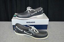 SEBAGO DOCKSIDE MEN'S SHOES, SIZE 8.5, NEW IN BOX