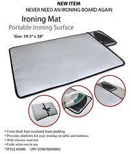Iron Anywhere, Ironing Mat, Heat Resistant portable ironing, travel iron,