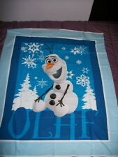 New listing Frozen~Olaf Blue Fabric Panel~Fabric Traditions~ 35 x 44
