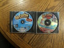 Roller Coaster Tycoon & Loopy Landscapes Expansion 2 Pack(Hasbro, PC) Discs Case