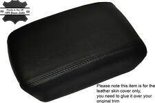 BLACK STITCHING ARMREST LID LEATHER SKIN COVER FITS NISSAN X-TRAIL T31 2008-2014