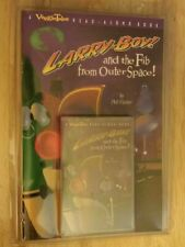 VeggieTales Read Along Book Cassette New Vtg LarryBoy & the Fib from Outer Space