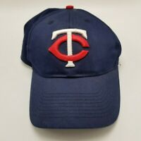 Minnesota Twins OC Sports Hat Cap Blue Youth Used Strapback Collectible Team MLB