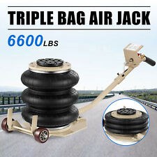 Triple Bag Air Jack Pneumatic Jack 6600lbs Car Quick Lift 3 Ton Compressed Air