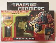 BRAND NEW 1987 Transformers G1 Joyride in BOX SEALED Vintage MISB