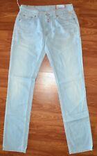 Replay Original light blue jeans indigo fabrics straight leg denim sz 28 X 32