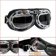 Moto Vintage Eyewear Goggles Glasses Riding For Harley Half Or Open Face Helmets