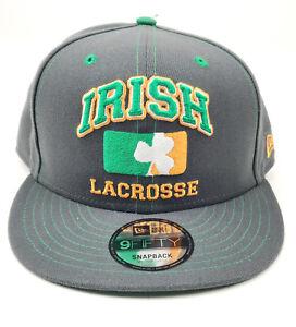 New Era 9FIFTY Snapback Conor McGregor Irish Lacrosse M/L Cap Hat Graphite Grey