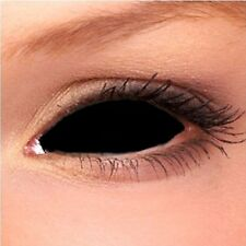 Black Sclera Contact Lenses (22 mm) - NEW - great quality