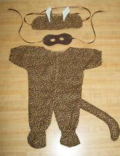 "LEOPARD/ JAGUAR CAT HALLOWEEN SUIT HEADBAND+MASK for 16-17"" CPK Cabbage Patch Ki"