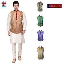 Men's Indian Jacquard Waist Coat Nehru Jacket Modi Jacket - MJ1080