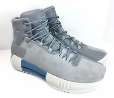 Under Armour Drive 4 Basketball Shoes Steel Gray Blue Men's Size 10 $125 New