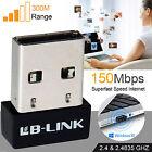 USB WiFi 150mbps Mini Wireless Adaptor 802.11n B G N LAN Network Dongle