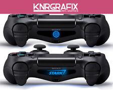 KNR4064 STARK and IRON MAN Custom PS4 Dualshock Lightbar Decal Playstation 4