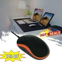 Optical USB LED Wired Mouse Mice For PC Laptop Computers Hot V3N1