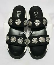 DIOR Fusion Beaded Sandals Size 37